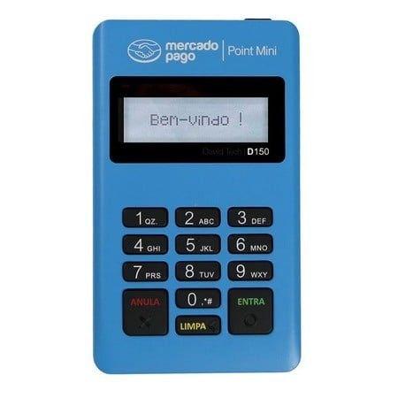 Maquina Maquininha Cartão Mercadopago Point Bluetooth-Entrega Grátis - Foto 2