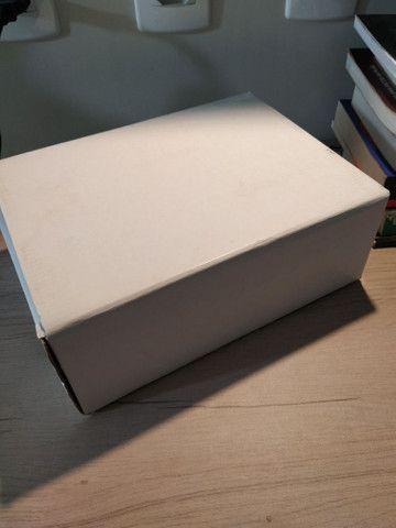 Caixa umidora em couro lisa  - Foto 4