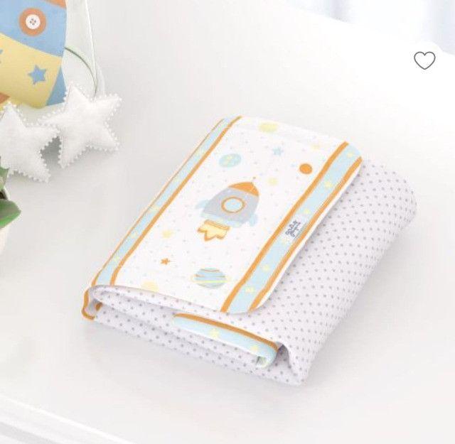 Kit Quarto de bebê (Trocadores ,Abajur, potes e bandejas, 2 porta fraldas - Foto 5