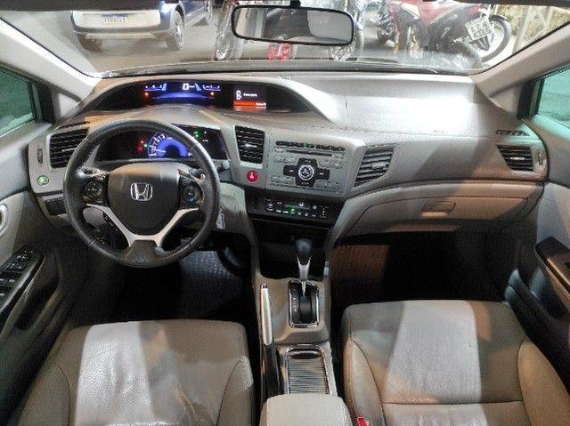 New Civic Lxr 2.0 Flex 2014 (Financia 100%)-Vendo,Troco ou Financio - Foto 11