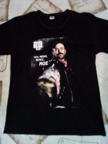 Camiseta the walking dead camiseta the walking dead feminina
