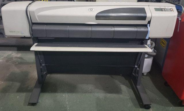 Impressora Plotter Hp Designjet 500 - Bivolt - Usada