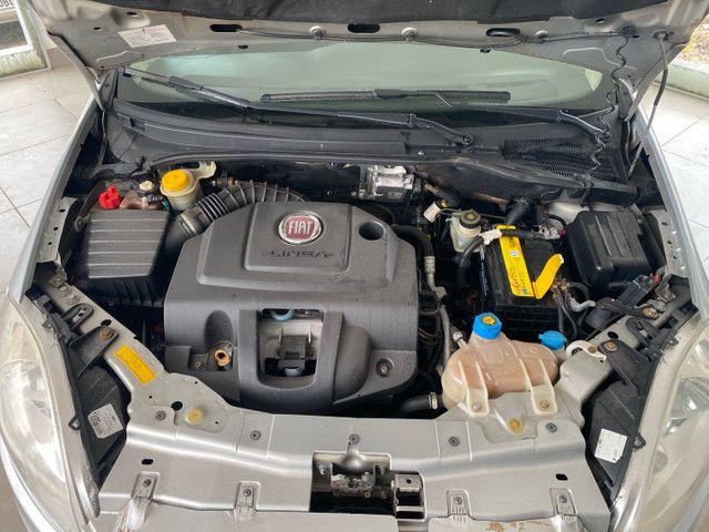 Fiat Linea HLX completo impecável! Ipva 2021 pago! - Foto 16