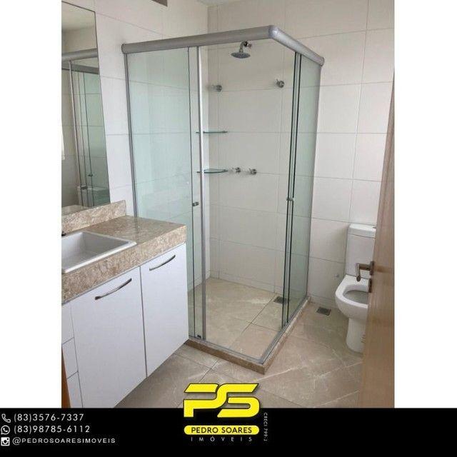 Apartamento com 3 dormitórios para alugar, 190 m² por R$ 6.200/mês - Altiplano Cabo Branco - Foto 12