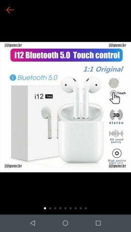 Fone de ouvido sem fio I12 Tws bluetooth