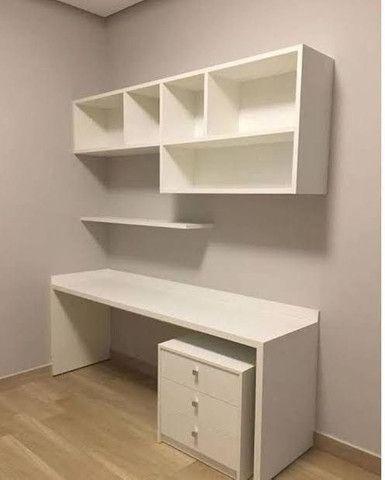 Nicho / estante/ para livros/ decoração novo MDF - Foto 4