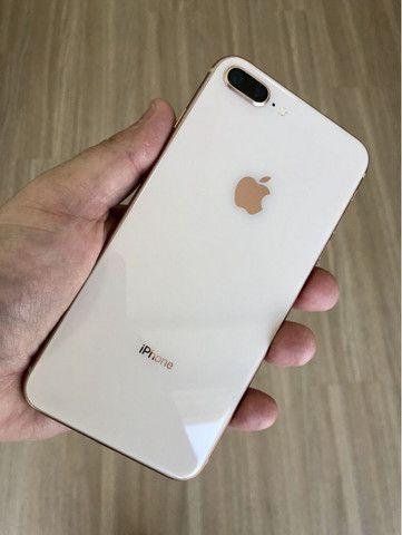 Apple Iphone 8 plus swap 64gb na cor Branco Top em Gyn - Foto 2
