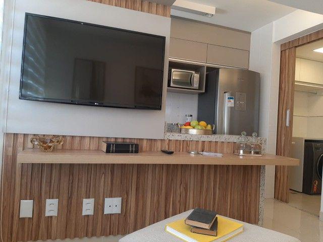 Apartamento com 64 m² sendo 2 quartos no Jardim Europa - Go - Foto 3