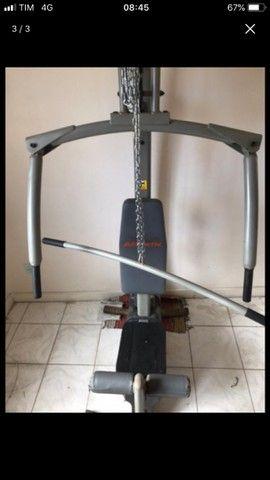 Aparelho de musculação - estação de treinamento  - Foto 3