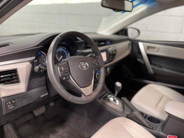 Corolla Xei 2.0 2017 Completo Flex Automatico/Financio Sem Entrada - Foto 3