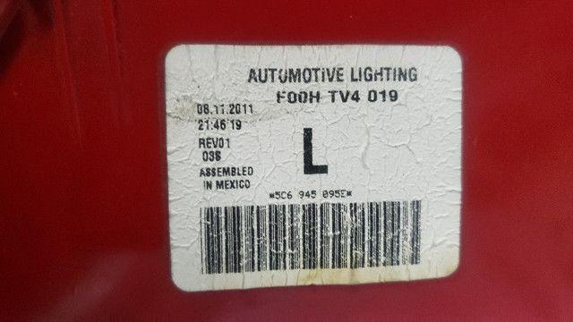 Jogo completo Lanterna Traseira Jetta TSi 2012 - Usado, Original - Foto 11