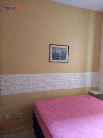 Apartamento com 1 dormitório para alugar, 50 m² por R$ 1.100/mês - Centro - São José dos C - Foto 14