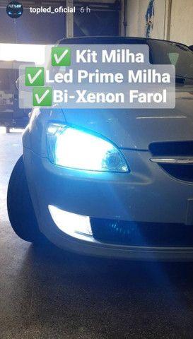 Kit Milha + Led Prime + Bi Xenon