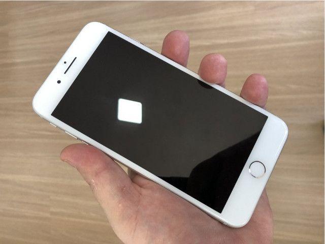 Apple Iphone 8 plus swap 64gb na cor Branco Top em Gyn - Foto 5