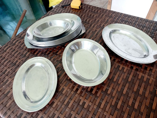 Jogo de bandejas de inox e formas de inox  - Foto 2