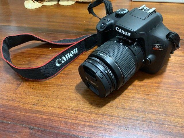 Camera Canon EOS Rebel T100 EF-S 18-55 III Kit (Nova) - Foto 6