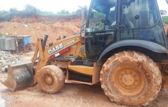 Retro Escavadeira Case 580N<br><br> - Foto 3