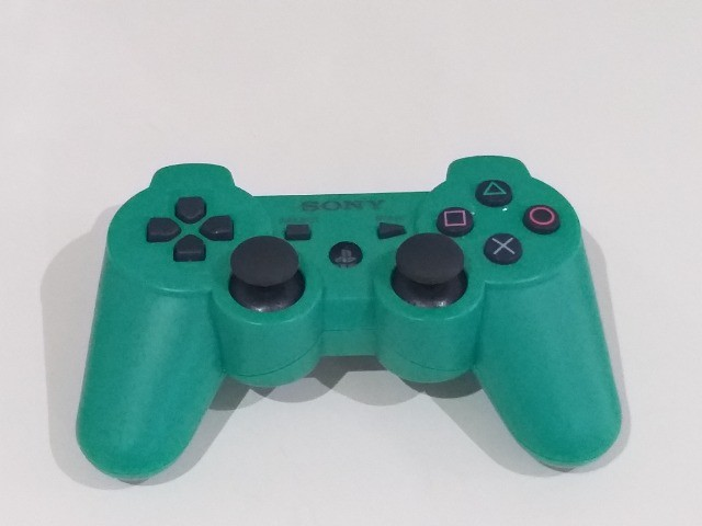 Controle Playstation 3 Sony Cor Verde - Foto 5