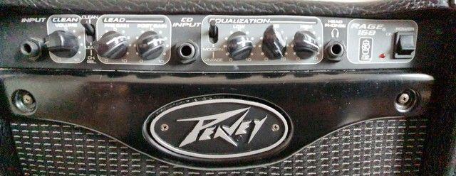 Amplificador guitarra Peavey RAGE 158 - Foto 3
