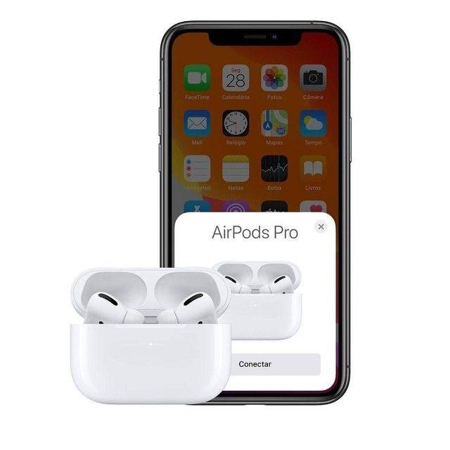 Fone Apple AirPods Pro Wireless ORIGINAL Lacrado NOVO - Foto 4