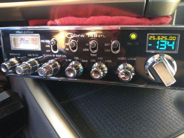 Rádio px cobra GTL 148  - Foto 2