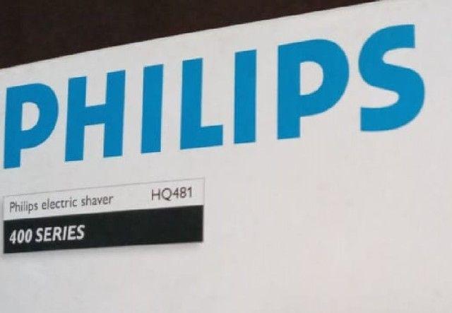 barbeador philips novo mastem defeito sao 2 laminas