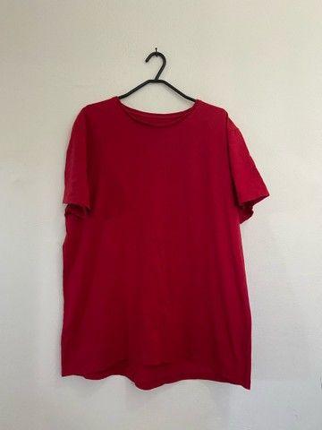 4 Camisas Básicas: RENNER TAM: M - Foto 2