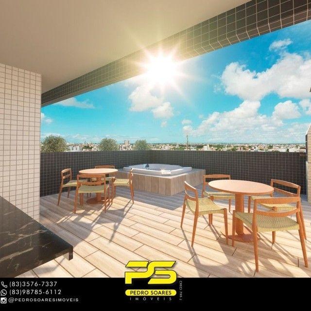 Apartamento com 3 dormitórios à venda, 70 m² por R$ 265.000 - Altiplano Cabo Branco - João - Foto 5