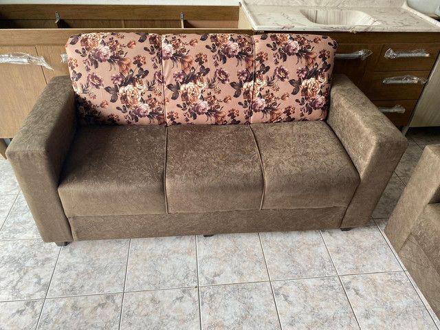 Jogo de sofá - Entregamos hoje! - Foto 4