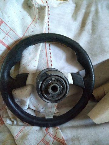 Vd. Volante / Protetor do Tanque e do Câmbio Jipe JPX - Foto 3