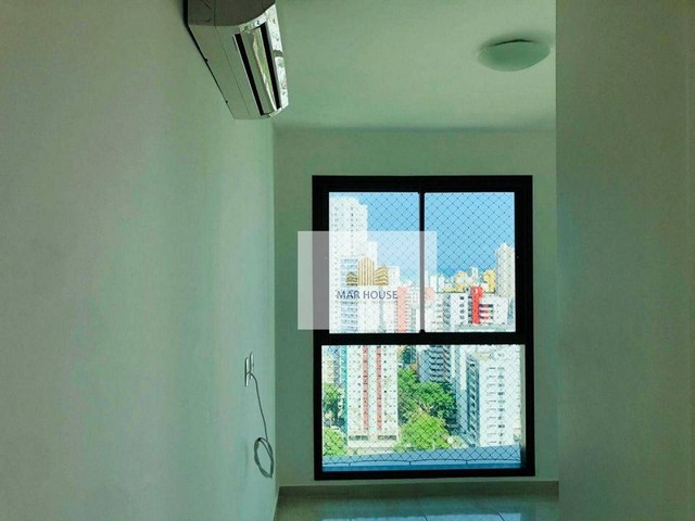 Apartamento com 3 dormitórios para alugar, 81 m² por R$ 3.500/mês - Boa Viagem - Recife/PE - Foto 10