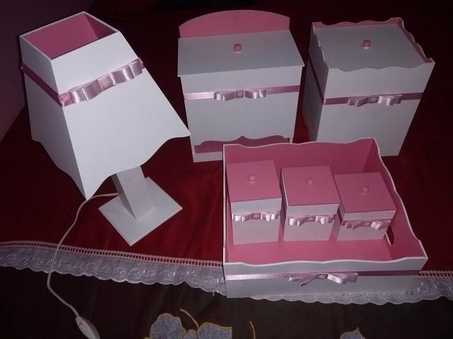 Kits de Higiene em MDF