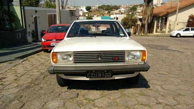 Vw - Volkswagen Voyage LS Placa Preta Original - Foto 5