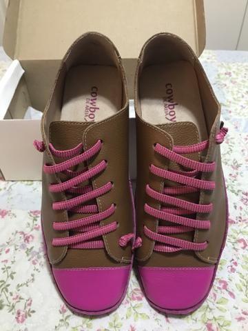 1cf7d465678 Sapatênis Feminino Pink Caramelo tamanho 38