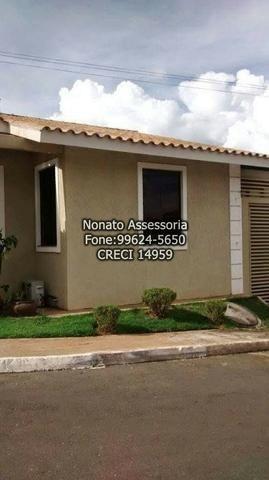 Venha Morar em Condominío fechado com custo Barato Casa 3/4 suite 2 garagem Lazer Completo