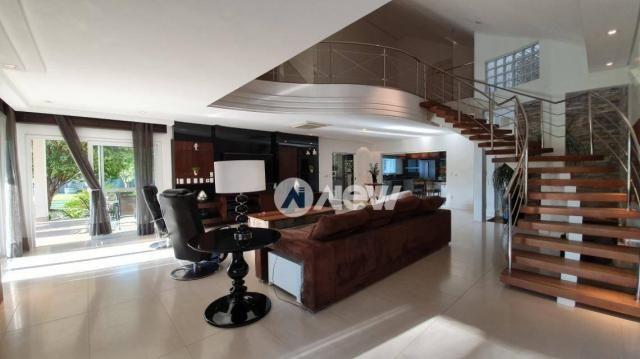 Casa com 4 dormitórios à venda, 506 m² por r$ 2.300.000,00 - lomba grande - novo hamburgo/ - Foto 17