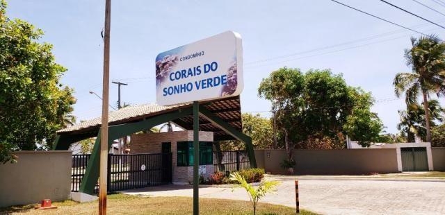Vendo Terreno 432 m² Corais do Sonho Verde Condomínio Fechado Beira-mar em Paripueira - Foto 8
