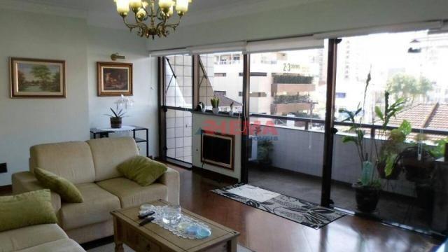 Apartamento com 3 dormitórios à venda, 180 m² por R$ 925.000,00 - Gonzaga - Santos/SP