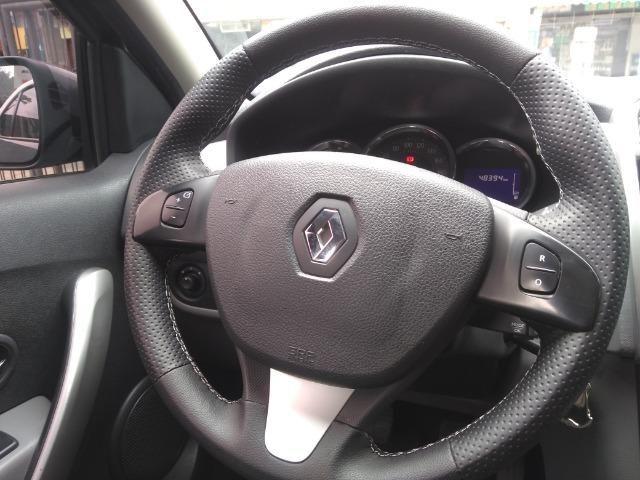 Renault Logan 1.6 Dynamique 8v Com GNV 5° Geração Novo 2017 - Foto 11