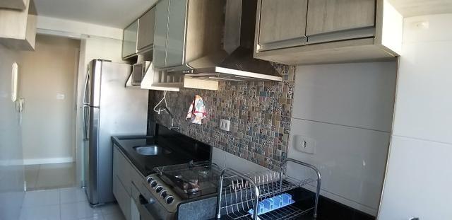 Ap. 3/4 mobiliado,decorado, eletrodomésticos, moveis sob medida, próximo do centro - Foto 9