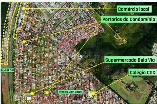 Casa em condomío com a melhor localização (4 qts) por r$ 830.000 - jardim botânico - Foto 3