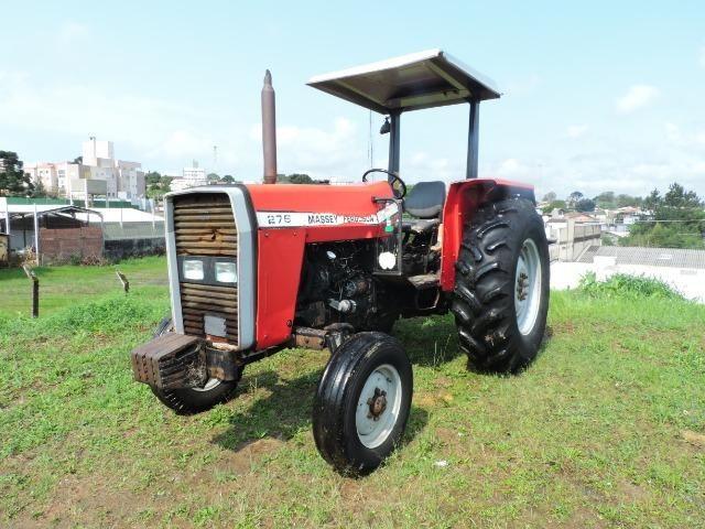 Trator agrícola, Massey ferguson, modelo 275 - Foto 2
