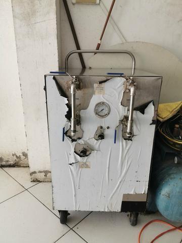 Máquina de lavagem A VAPOR. 12k. 12 bar