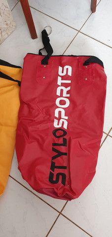 PRODUTO NOVO - 06 Sacos de Boxe StyloSport - Foto 2
