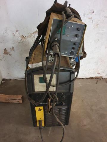 Máquina de solda Mig Esab modelo 318 - Foto 3