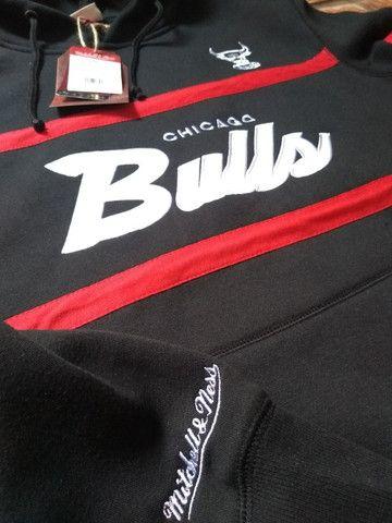 Moletom Chicago Bulls mitchell e ness - Foto 5