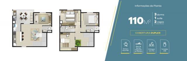 Apartamento no Jardim Vila Galvão, com 2 quartos, sendo 1 suíte e área útil de 55 m² - Foto 5