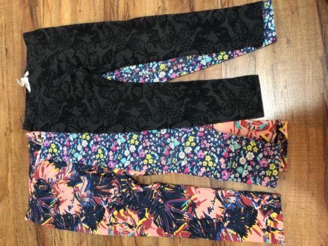 Kit 3 calças tamanho 4