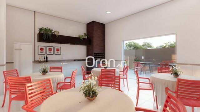 Apartamento com 3 dormitórios à venda, 87 m² por R$ 405.000,00 - Setor Pedro Ludovico - Go - Foto 16