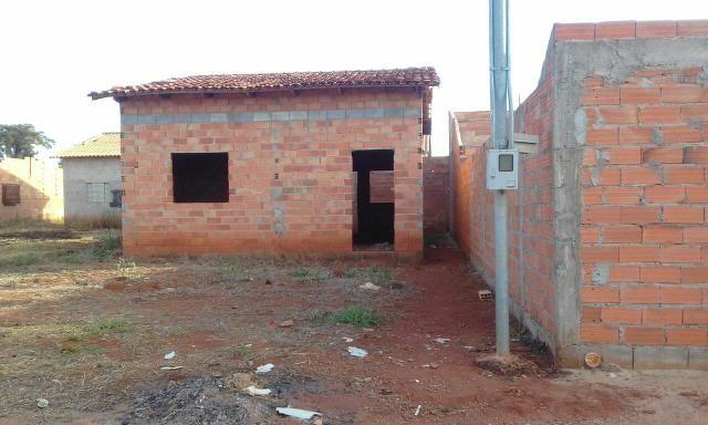 Ágio de lote com casa inacabada - Foto 2